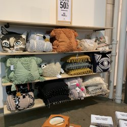 Photo of Urban Outfitters - Chicago, IL, United States. pillows