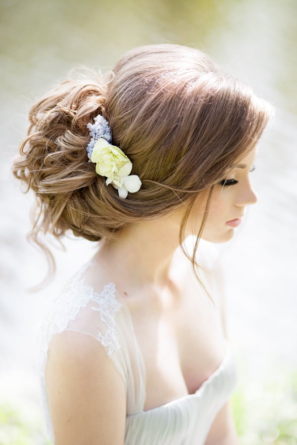 Photo de Elstyle - Pasadena, CA, États-Unis. Wedding hairstyles and makeup by ElStyle ($ 135 and up)
