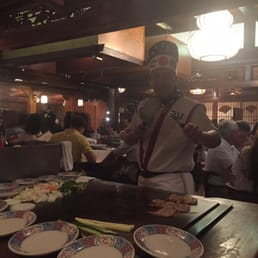 Mt. Fuji Restaurants - Hasbrouck Heights, NJ, United States. Chef posing for me! Lol
