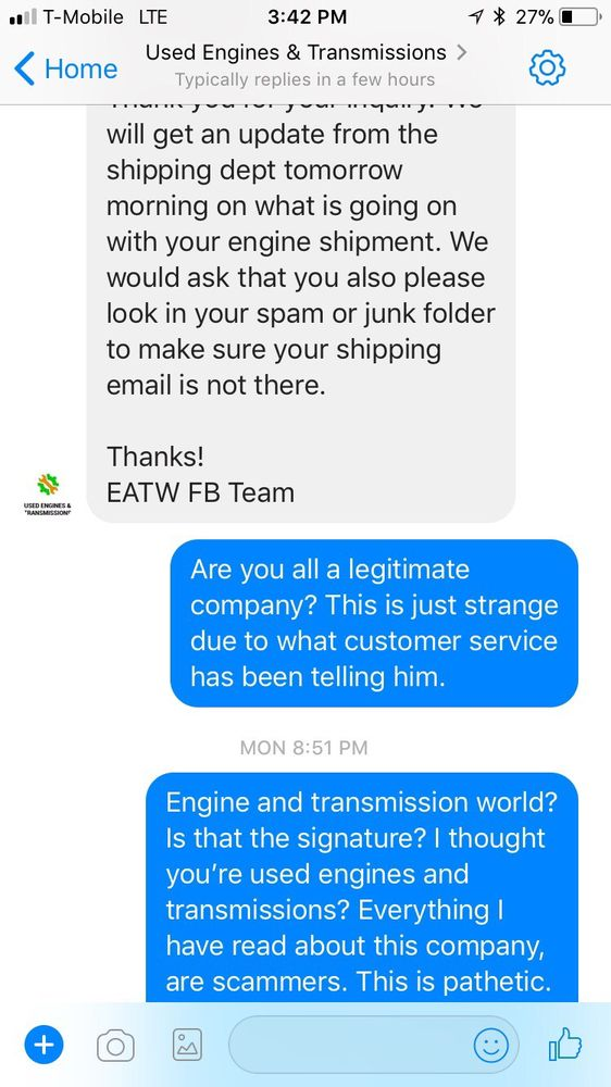 Engine And Transmission World >> Engine Transmission World 19 Reviews Auto Parts Supplies