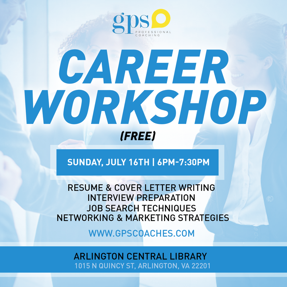 Gps Professional Coaching Career Counseling Arlington Va