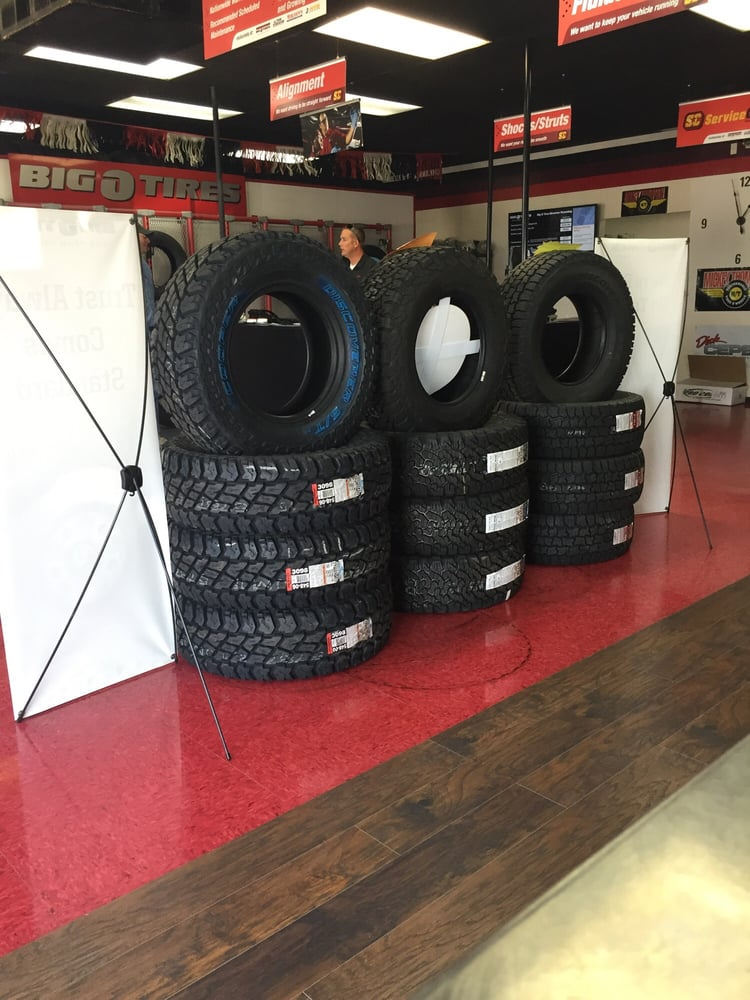 Big O Tires: 303 S Federal Blvd, Riverton, WY