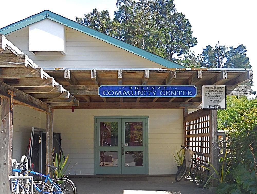 Bolinas Community Center: 14 Wharf Rd, Bolinas, CA