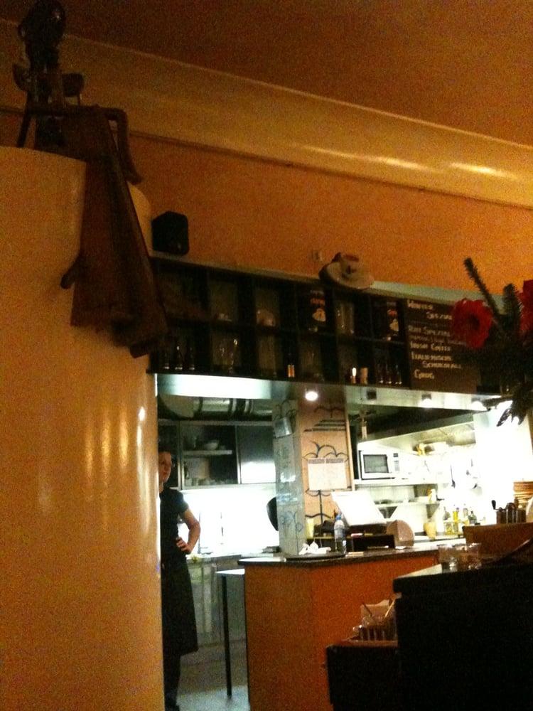 Blick In Die Offene Küche Yelp