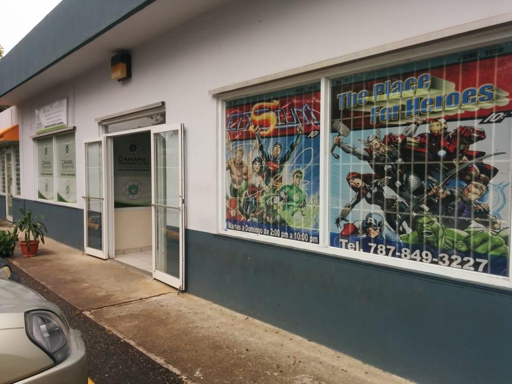 Elysium Comic Book Store: Carr 345 Edificio Casa Blanca, Hormigueros, PR
