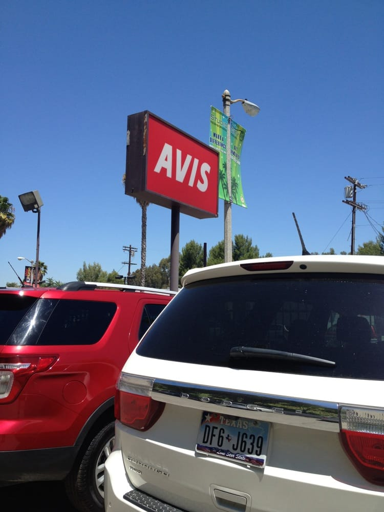 Avis Car Rental Studio City Ca