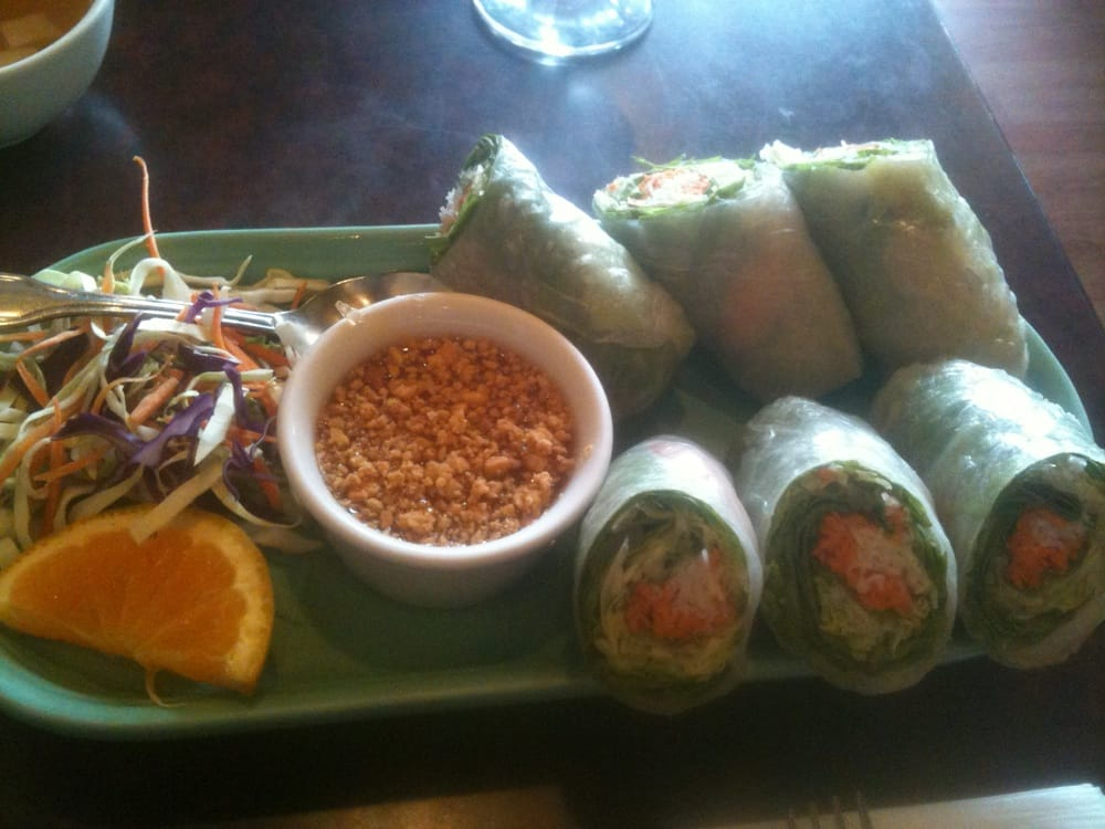 Fresh rolls yelp for Ayothaya thai cuisine puyallup wa