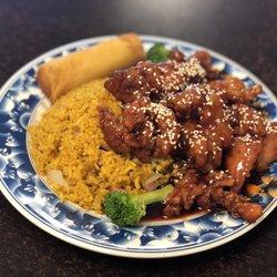 Photo Of Mulan Chinese Restaurant Sandy Ut United States Sesame En Lunch