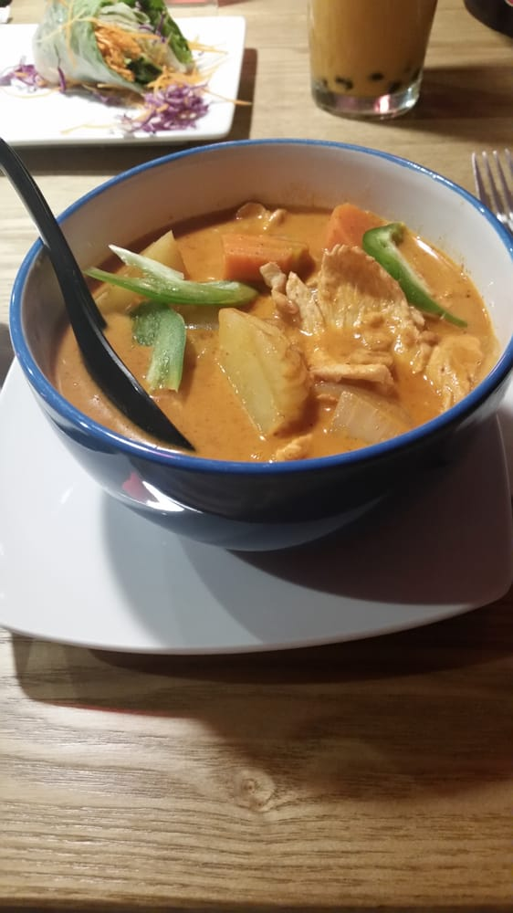 Chicken mussamun curry yelp for Aroma thai cuisine