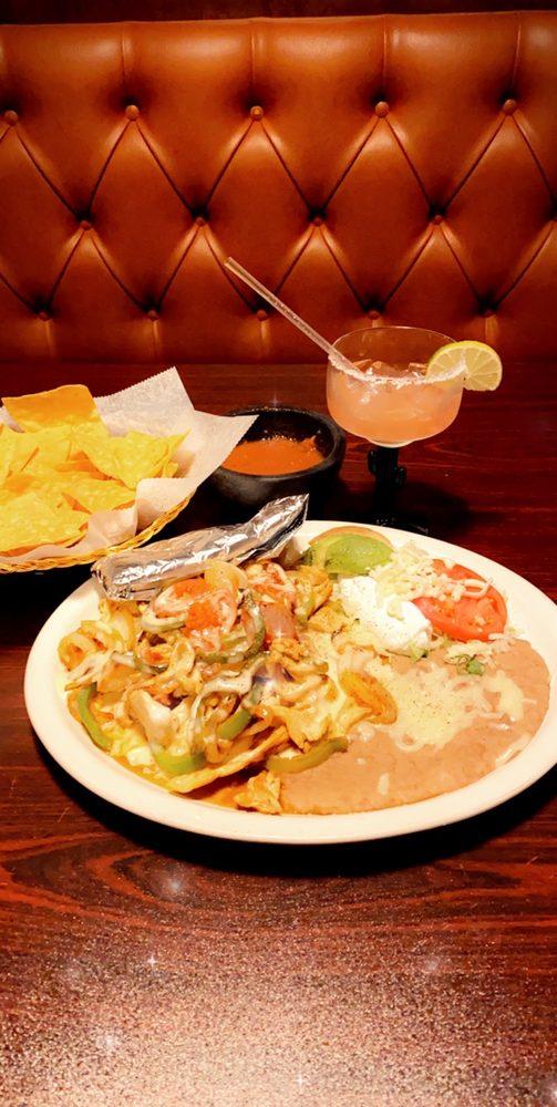 Food from El Rio Grande Mexican Restaurant