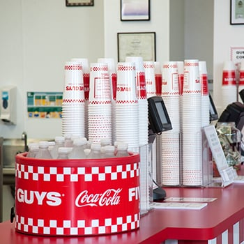 Five Guys: 3292 Elida Rd, Lima, OH
