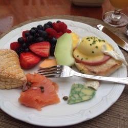 Photo Of Palm Court Restaurant Boca Raton Fl United States Eggs Benedict