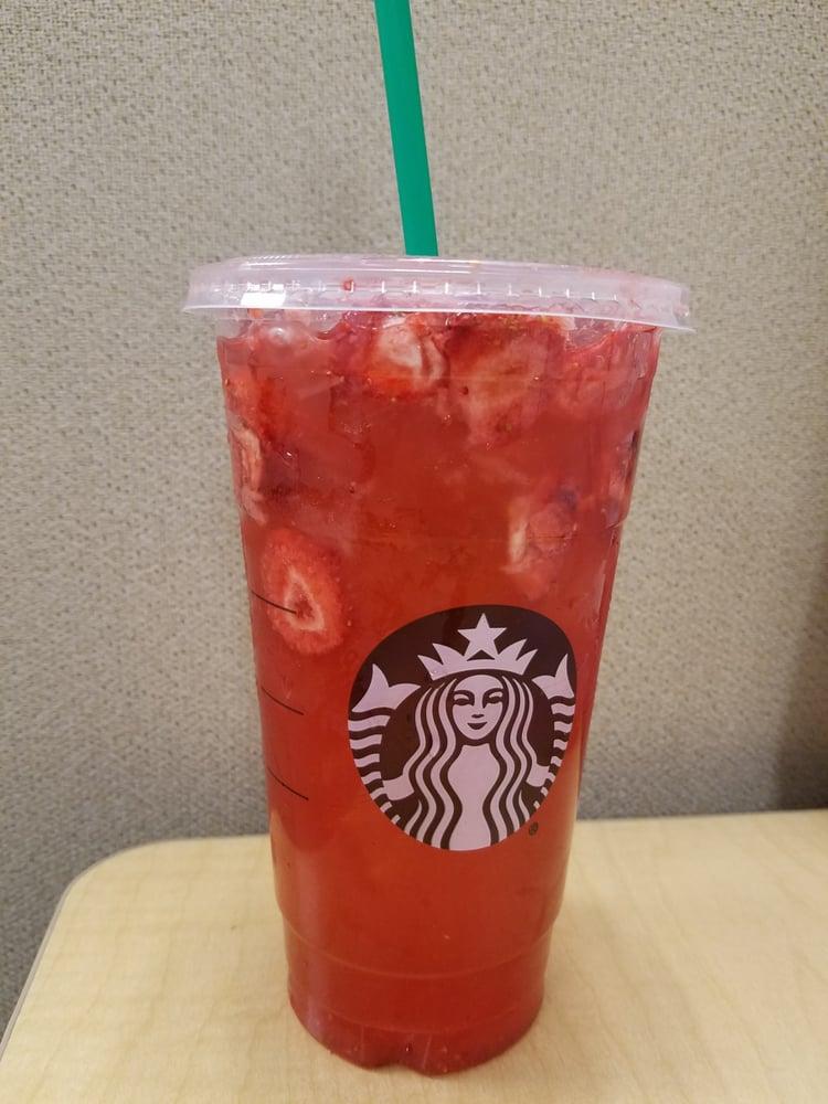 3 95 Venti Strawberry Acai Refresher With Extra Extra