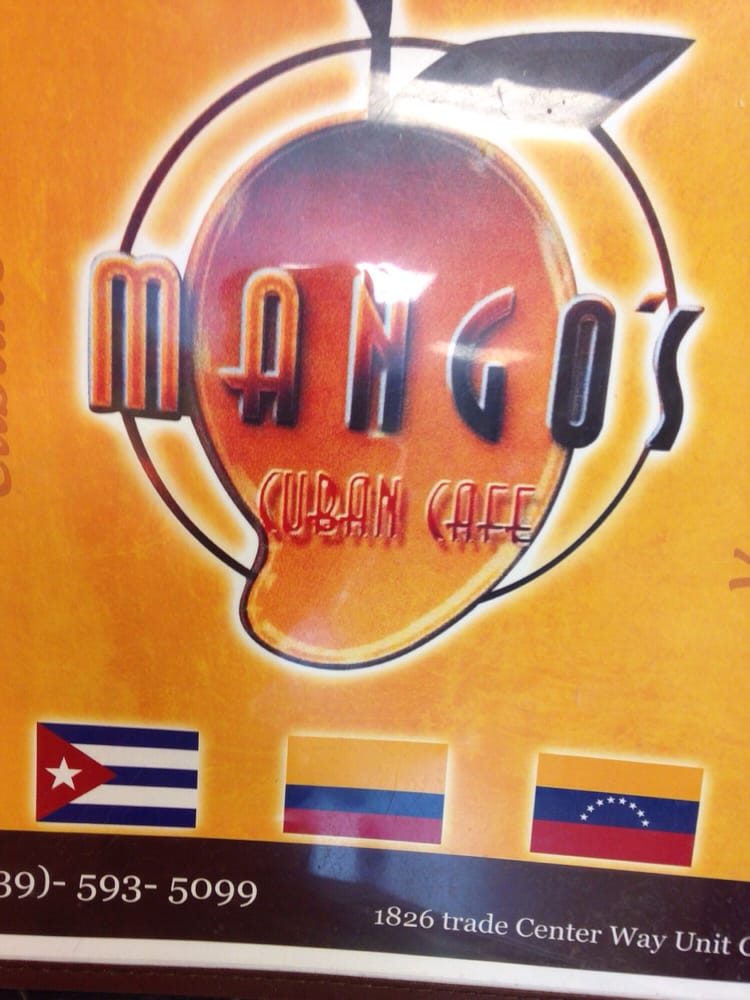 Mango S Cuban Cafe Naples Fl