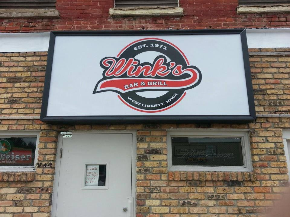 Wink's Bar & Grill: 115 W 3rd St, West Liberty, IA