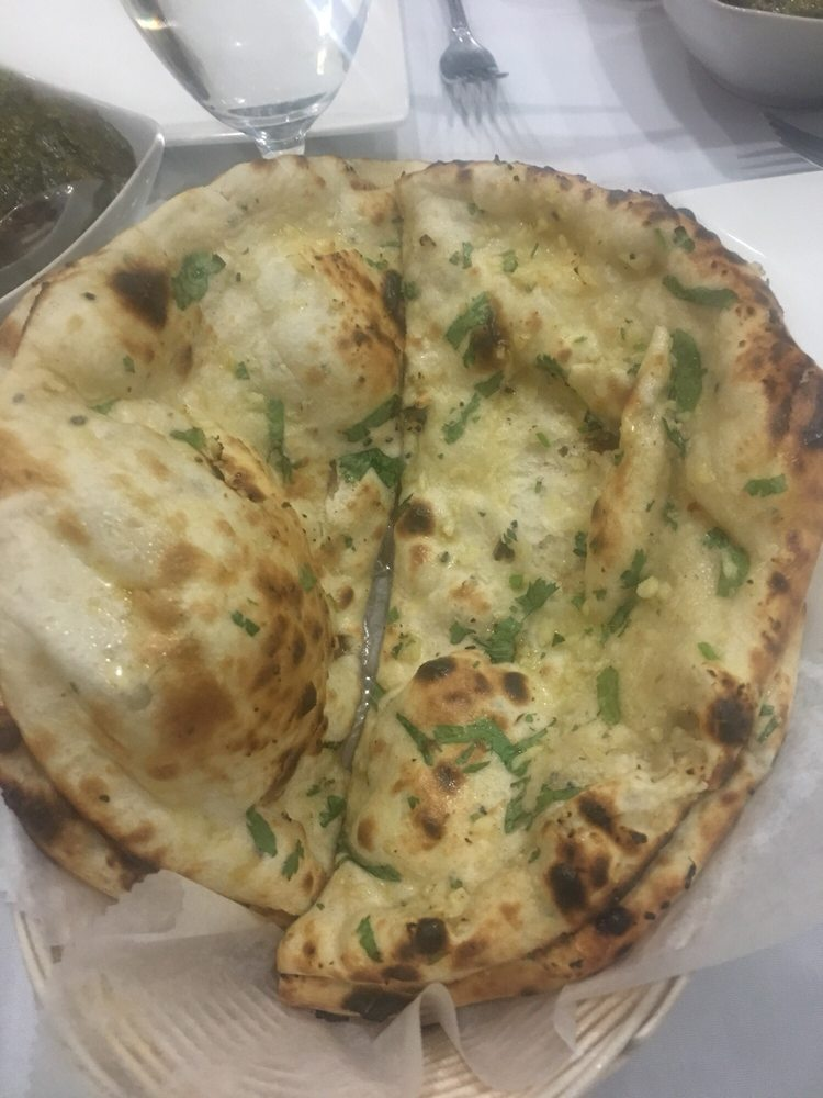 Garlic naan yelp for 7 spice indian cuisine