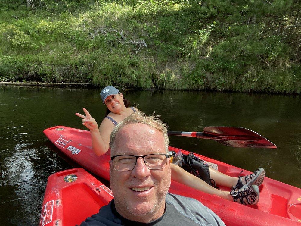 Borchers AuSable Canoe & Kayak: 101 Maple St, Grayling, MI