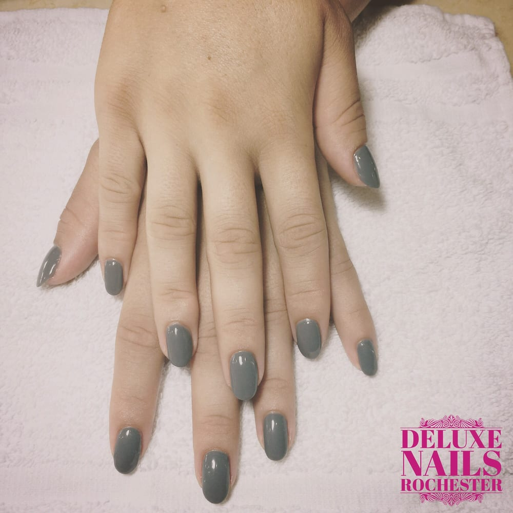 Nude Brown Shellac at Deluxe Nails. - Yelp