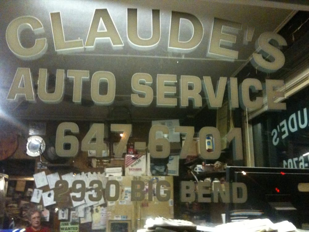 Claude's Auto Service: 2930 S Big Bend Blvd, Saint Louis, MO
