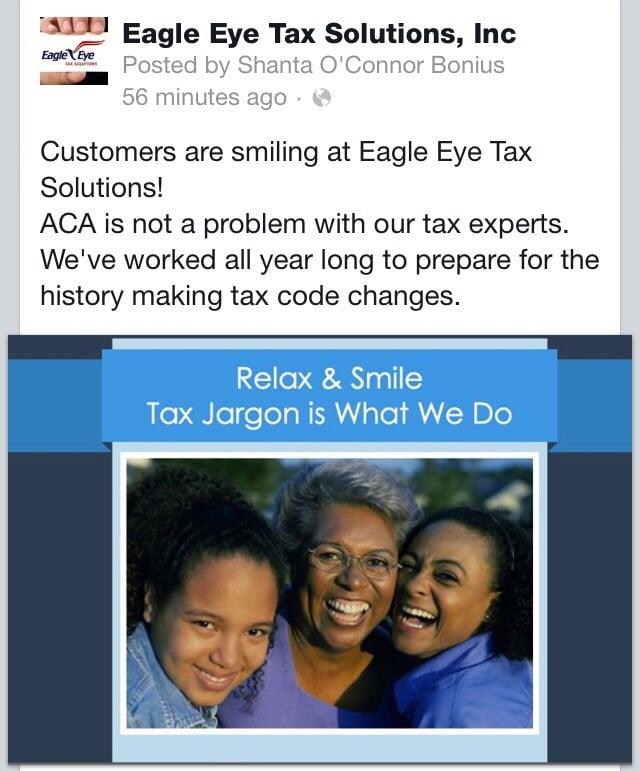 Eagle Eye Tax Solutions, Inc: 2211 S Burnside, Gonzales, LA