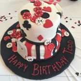 TX, United States. Casino themed birthday cakes or my husbands party ...