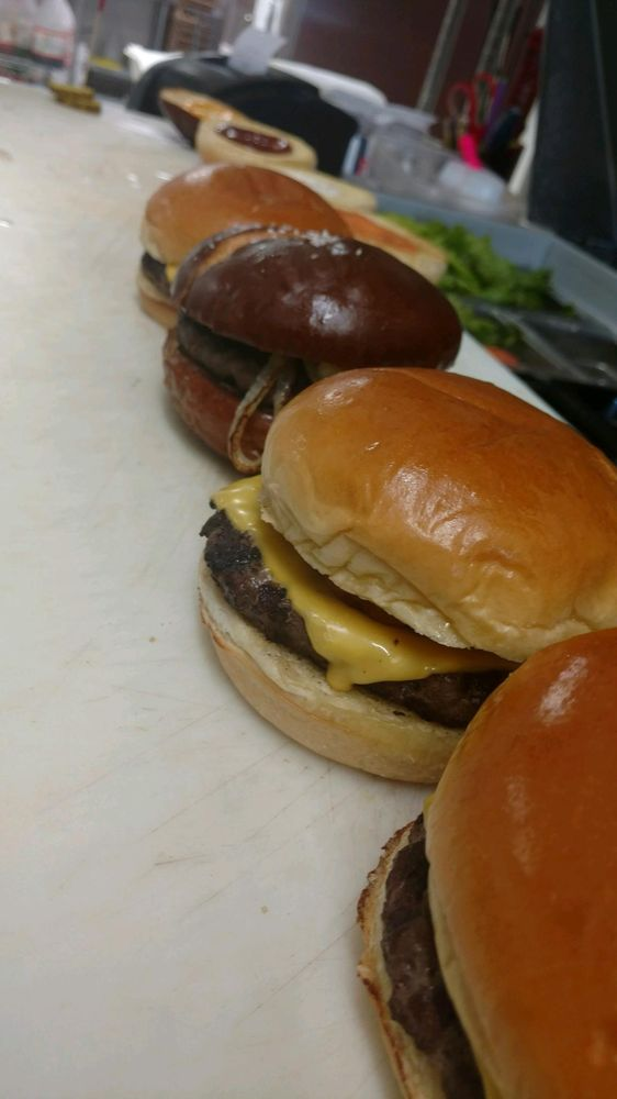 Blazin' Burgers: 707 N Crater Ave, Dover, OH