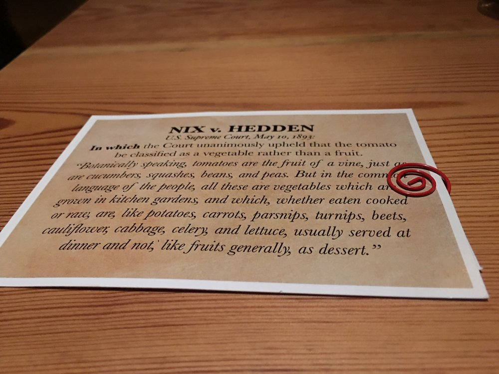 nix v hedden explanation with the bill court case that declared