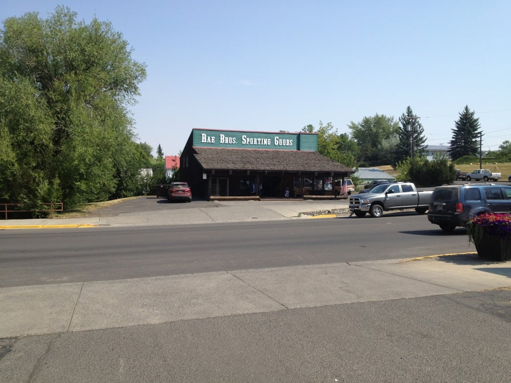 Rae Brothers Sporting Goods: 247 E Main St, Grangeville, ID