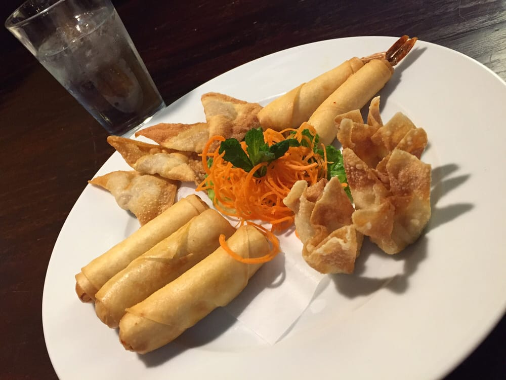 I like their new menu sampler platters philly cheece for 24 star thai cuisine