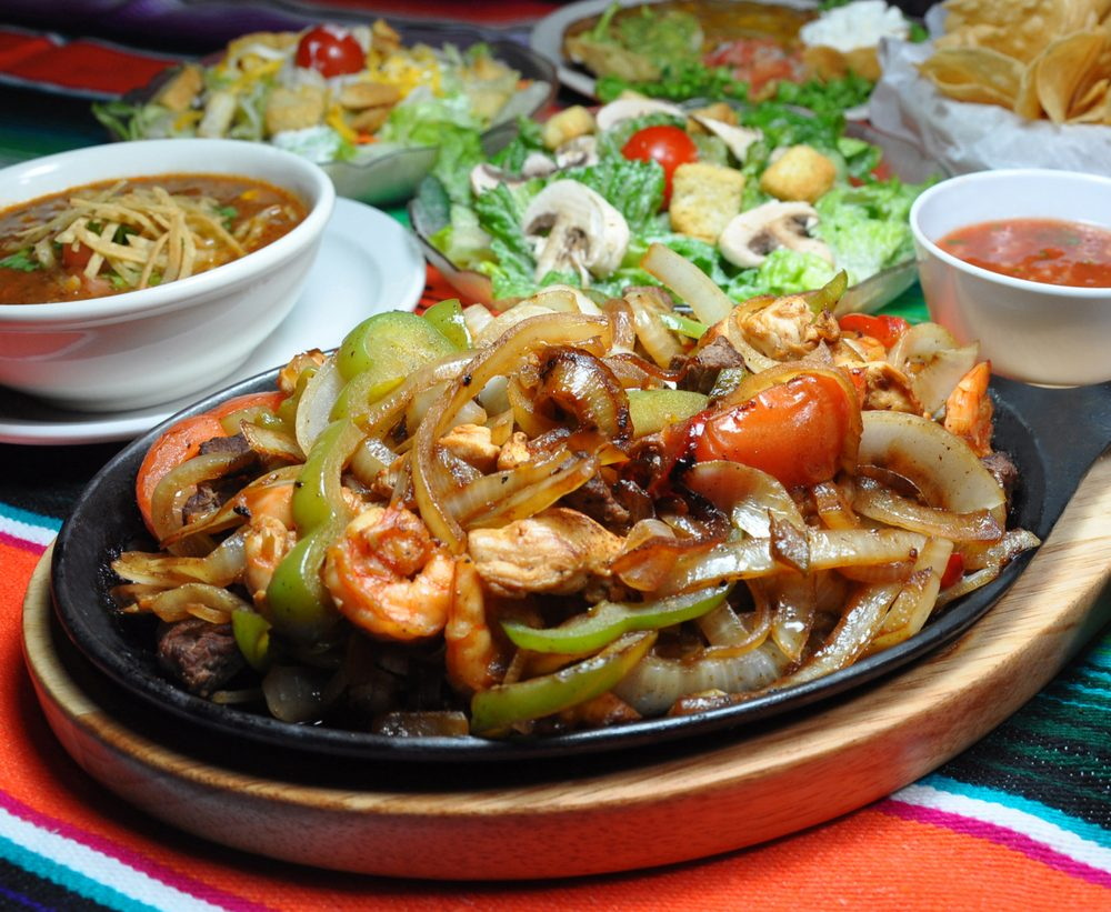 Sizzling fajitas yelp for Cuisine near me