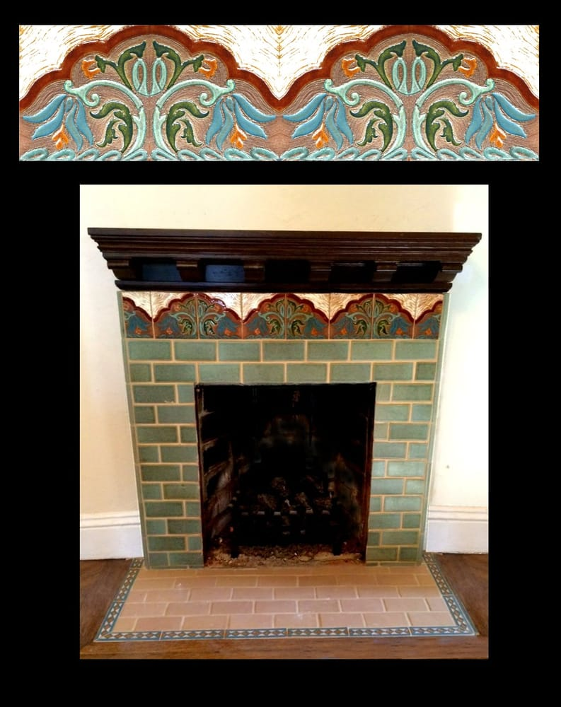 Victorian Edwardian Arts Amp Crafts Vintage Fireplace