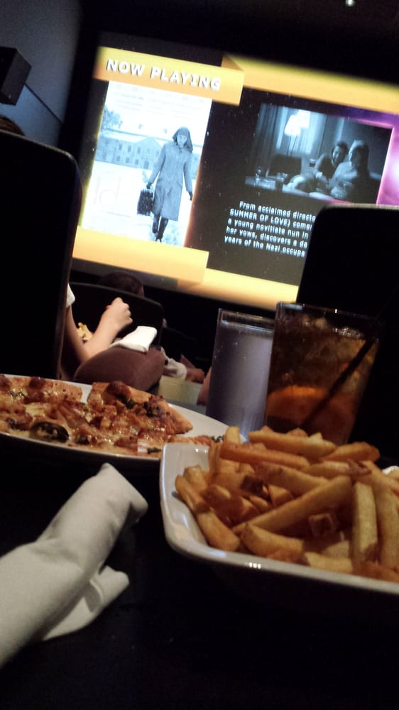 Pizza And French Fries.