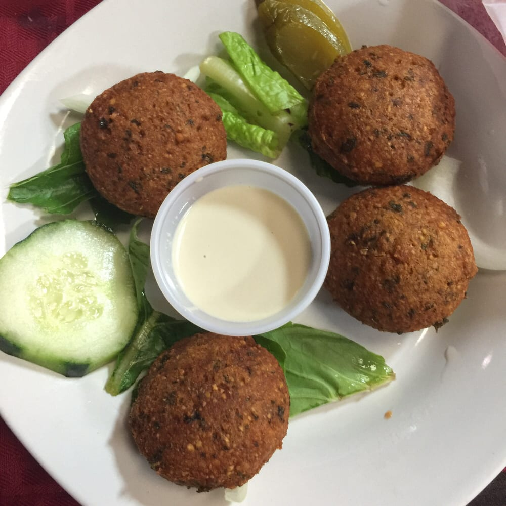 how to serve falafel as an appetizer