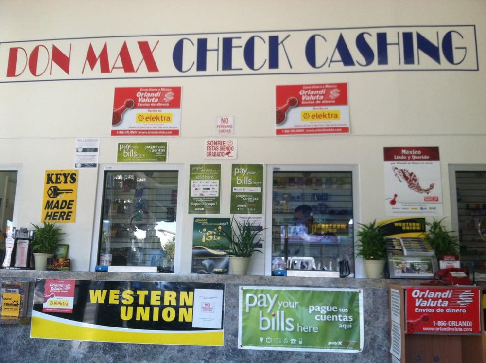 Don Max Check Cashing