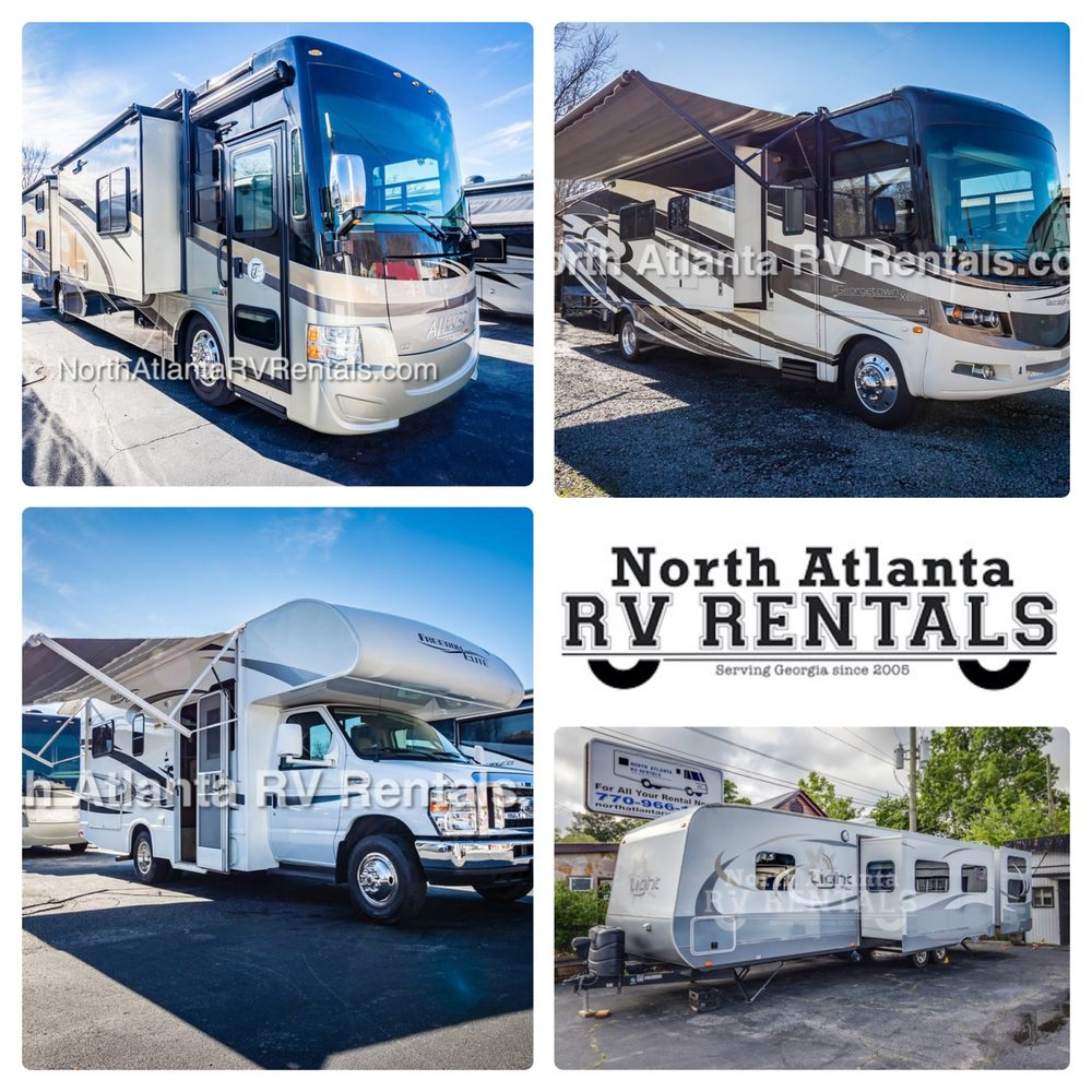North Atlanta RV Rentals: 5561 N Main St, Acworth, GA