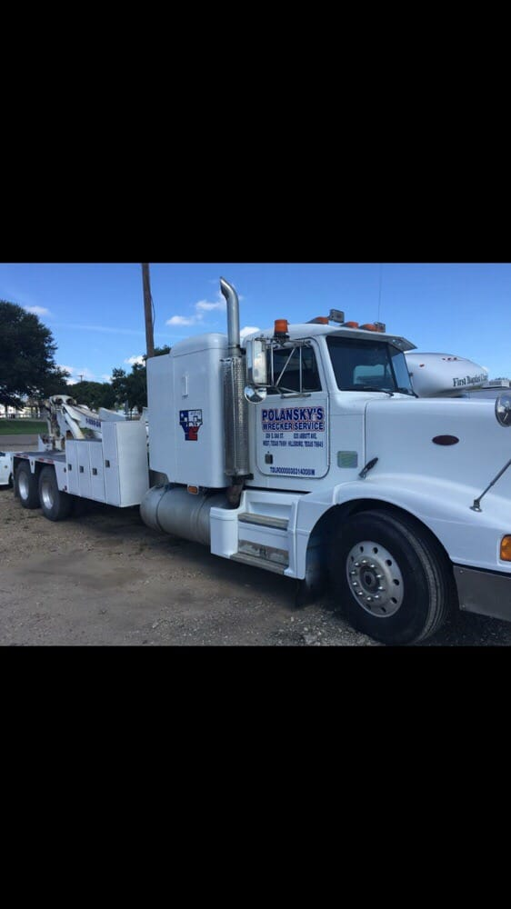 Polansky's Wrecker Service: 309 E Oak St, West, TX