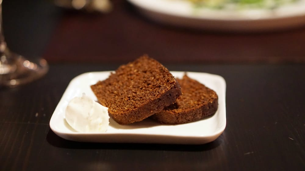 Wheat Pumpernickel Bread With Whipped Butter Yelp