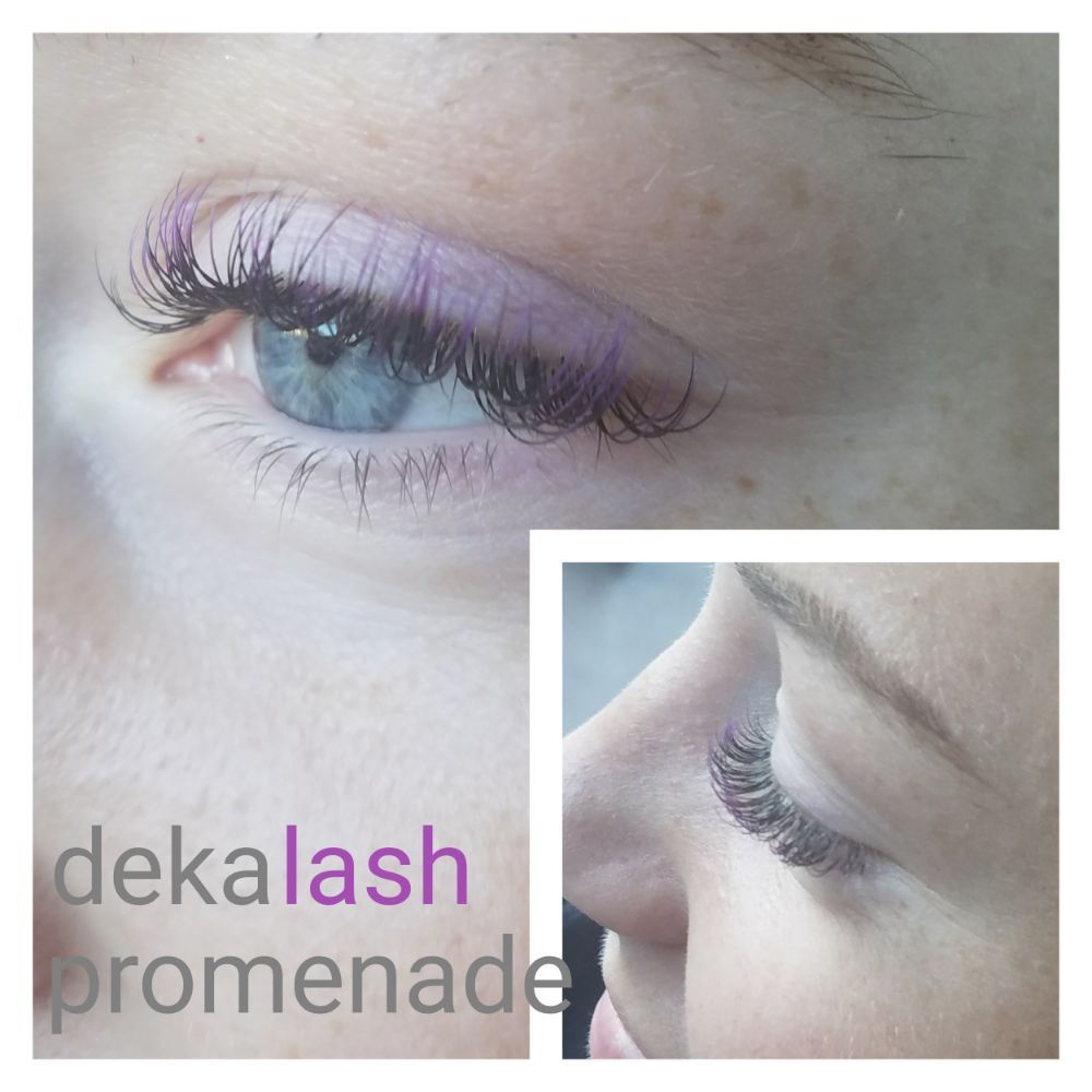 Color Lash Extensions Purple We Also Carry Red Green And Blue