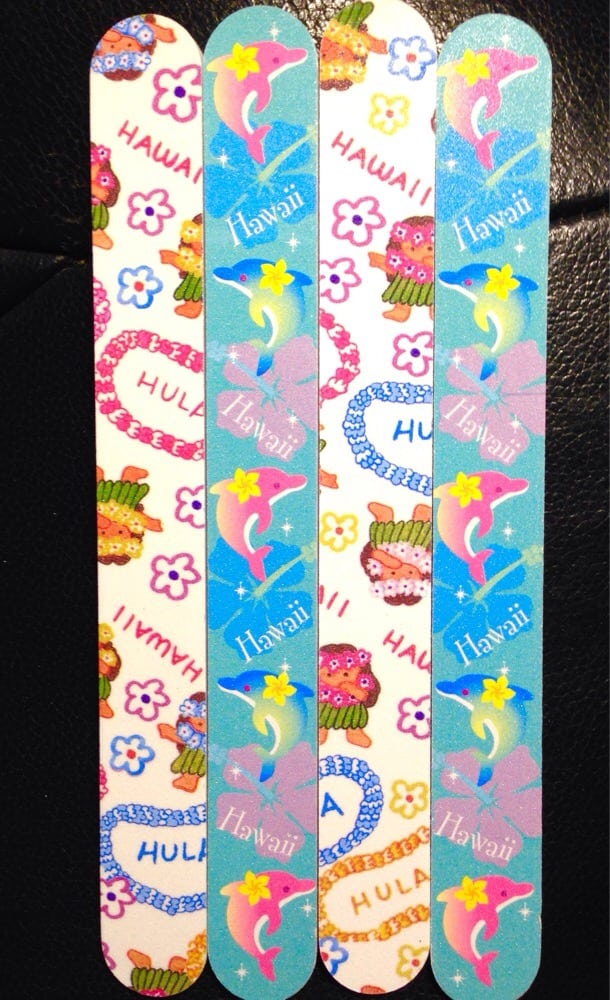 Cute Hawaiian nail files! - Yelp