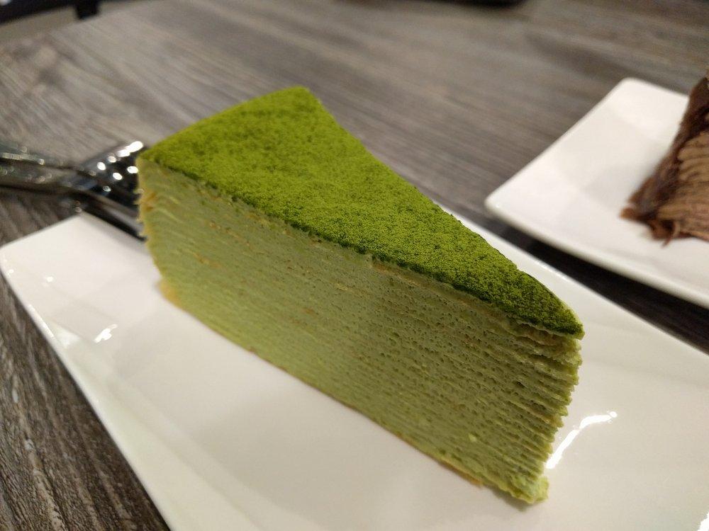 how to make green tea crepe