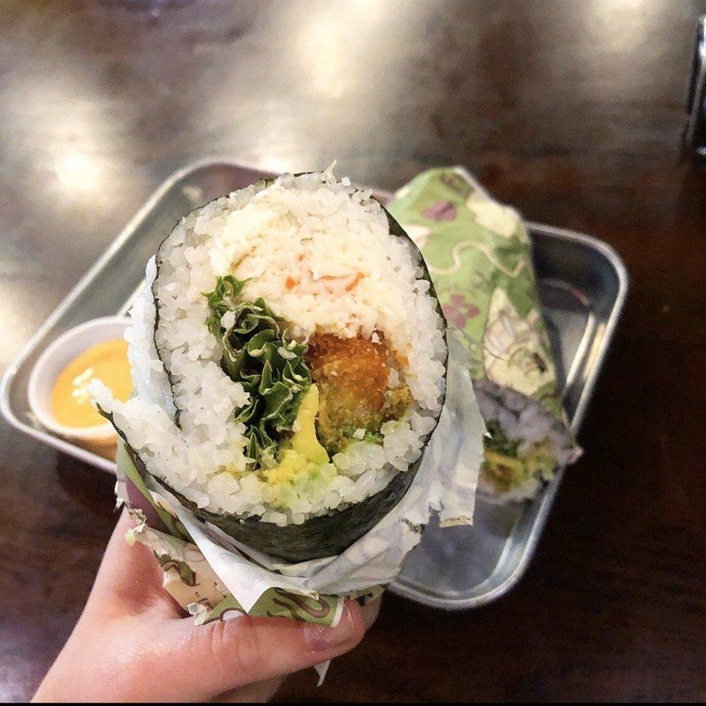 Food from Sushi Freak