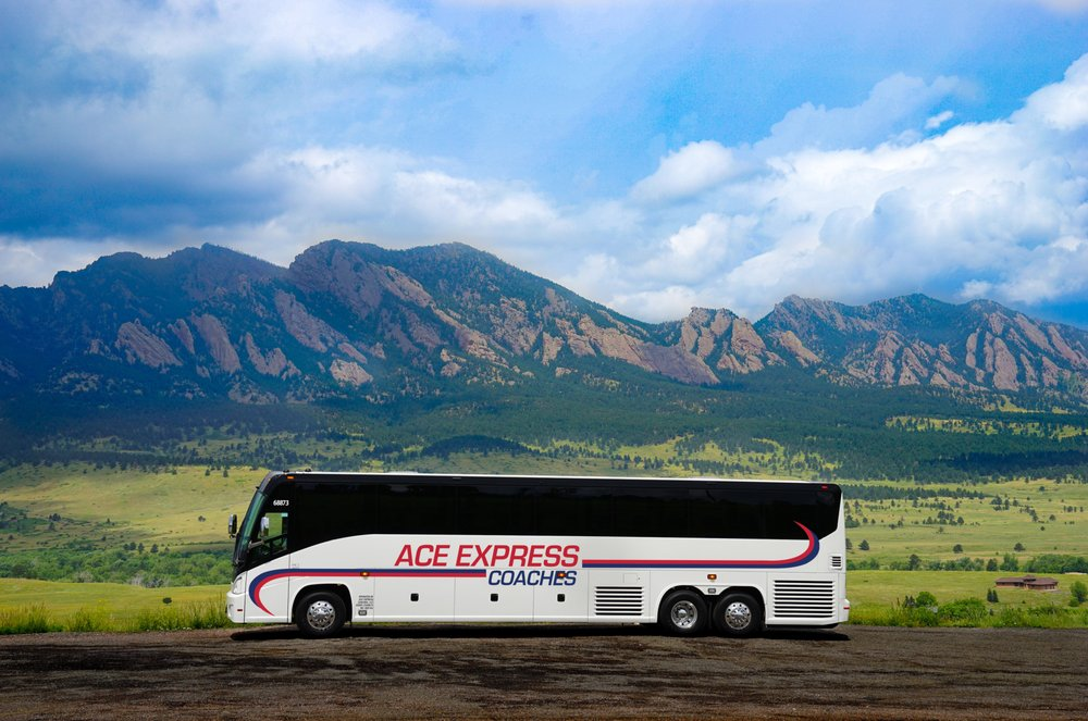 Ace Express Coaches: 14000 W 44th Ave, Golden, CO