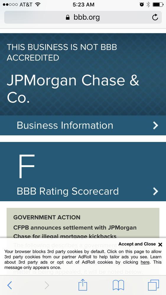 Chase JP Morgan Bank Credit Card Services - 51 Reviews - Banks ...