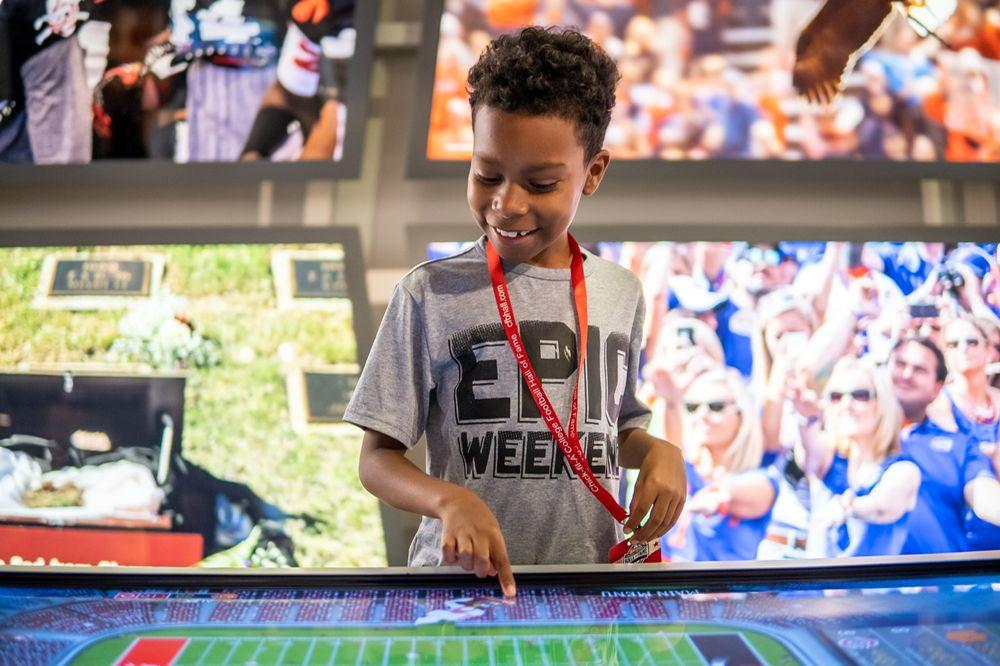 College Football Hall of Fame: 250 Marietta St NW, Atlanta, GA