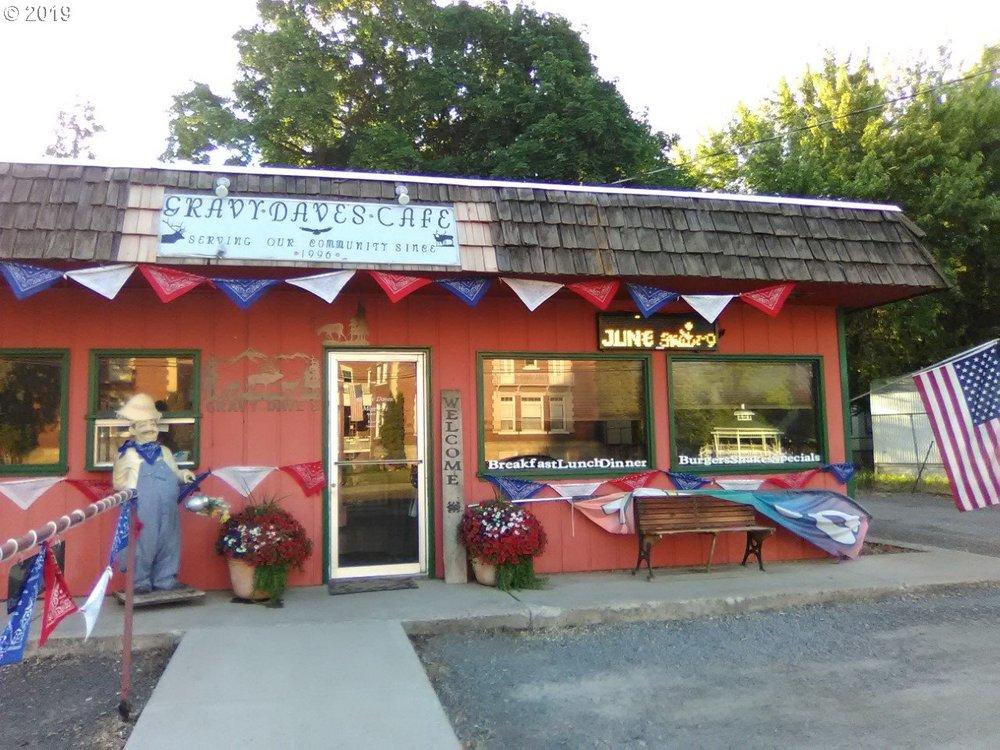 Gravy Dave's: 363 N Main, Union, OR