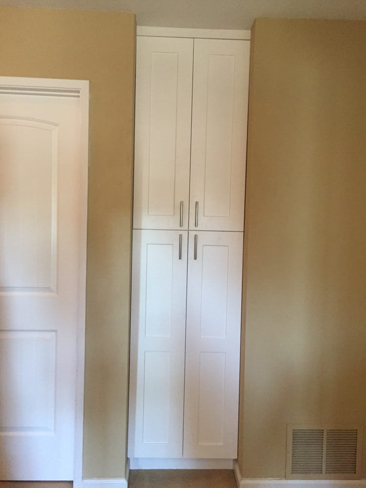 Custom Built To Fit Full Overlay Doors Pantry Cabinet