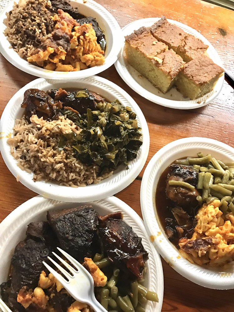 Food from Kelly's Jamaican Foods