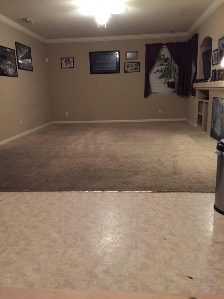 Disgusting Carpet And Linoleum Before Yelp
