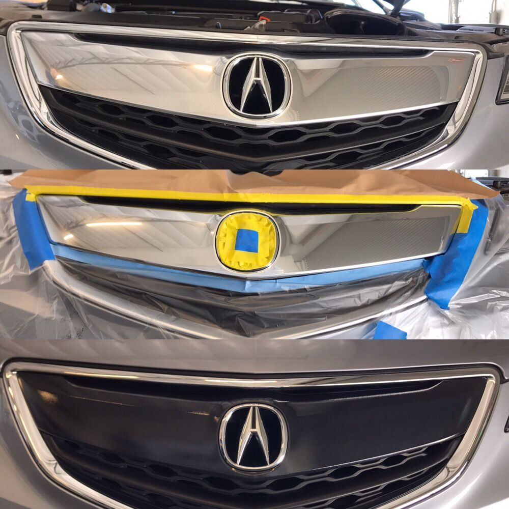2015 Acura TLX Front Grill Glossy Black