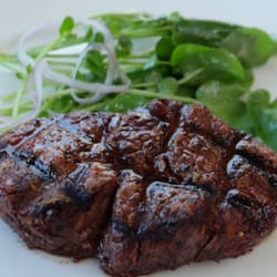 Photo Of Leatherneck Steakhouse San Francisco Ca United States Filet Mignon With